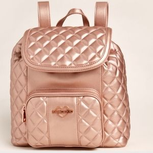 🎉HP🎉 Love Moschino Copper Quilted Backpack